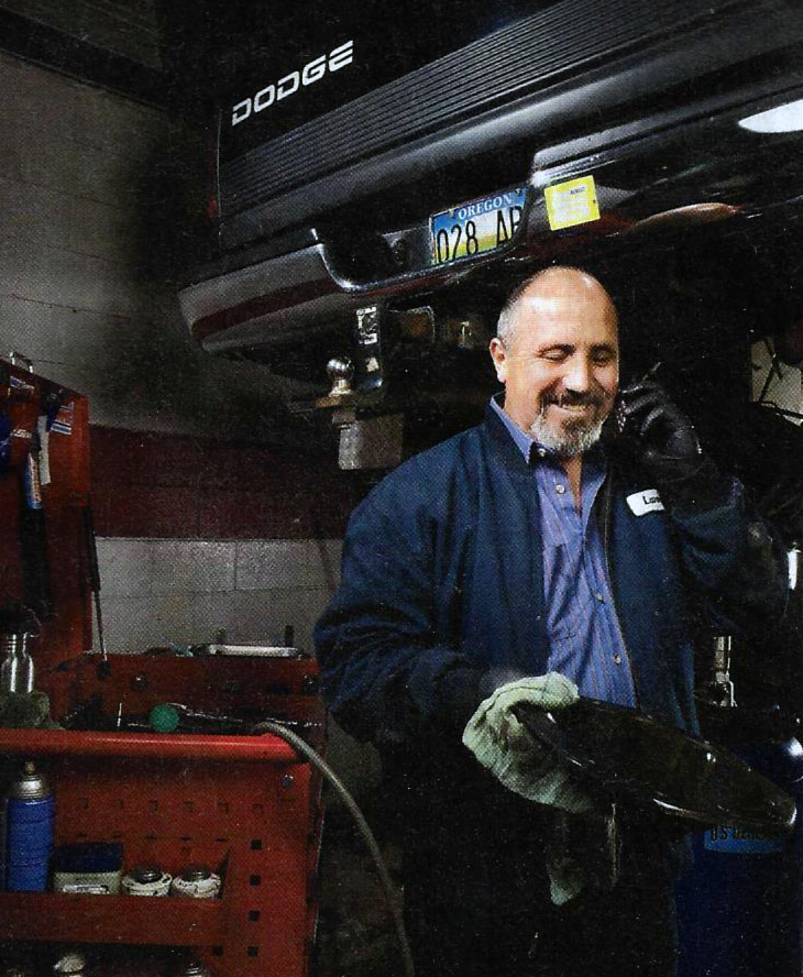 Photo of Larry Woody from Popular Mechanics magazine 2010